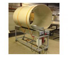 Стыковочные станки ССПЛ для сварки полипропиленовых и полиэтиленовых листов.