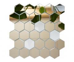 Зеркальная мозаика сота (шестигранник)