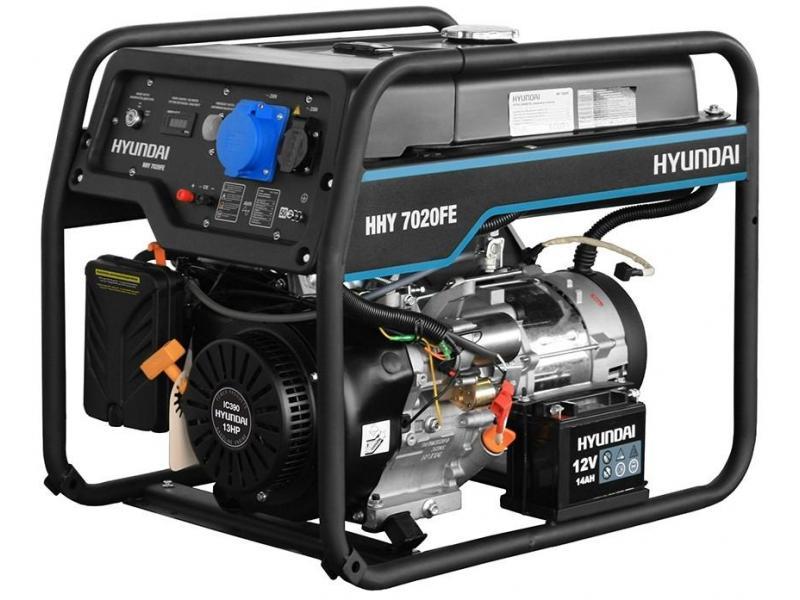 Бензиновый генератор HYUNDAI HHY 7020FE - 1/1