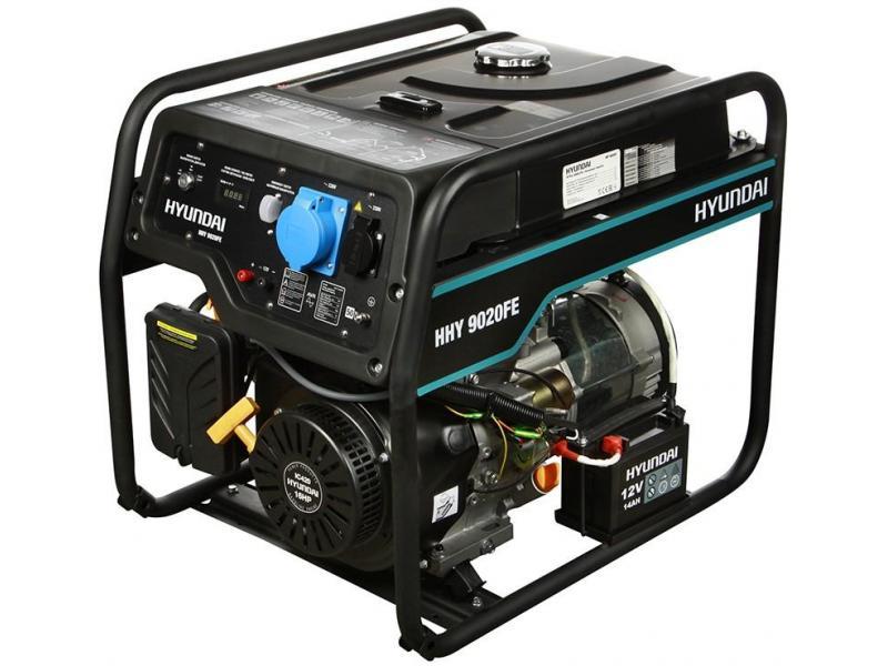 Бензиновый генератор HYUNDAI HHY 9020FE - 1/1