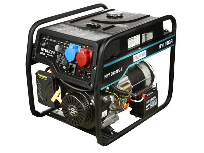 Бензиновый генератор HYUNDAI HHY 9020FE-T - 1/1