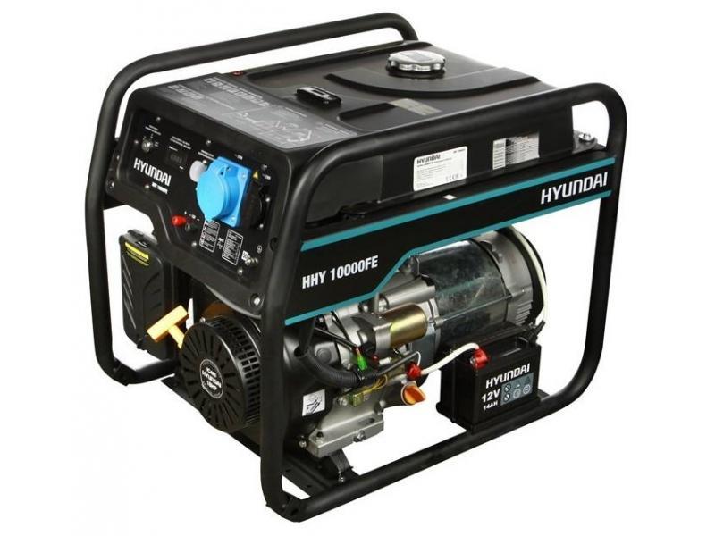 Бензиновый генератор HYUNDAI HHY 10000FE - 1/1