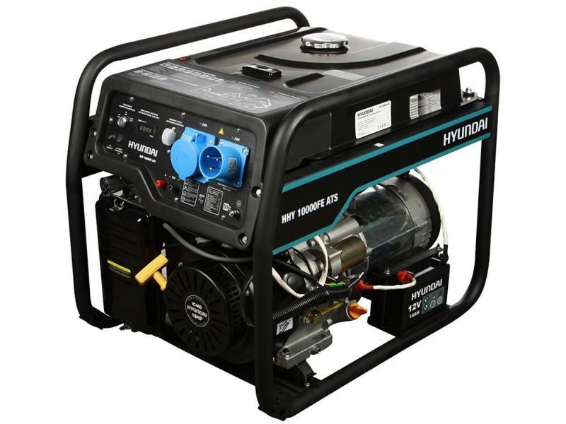 Бензиновый генератор HYUNDAI HHY 10000FE ATS С АВТОЗАПУСКОМ - 1/1