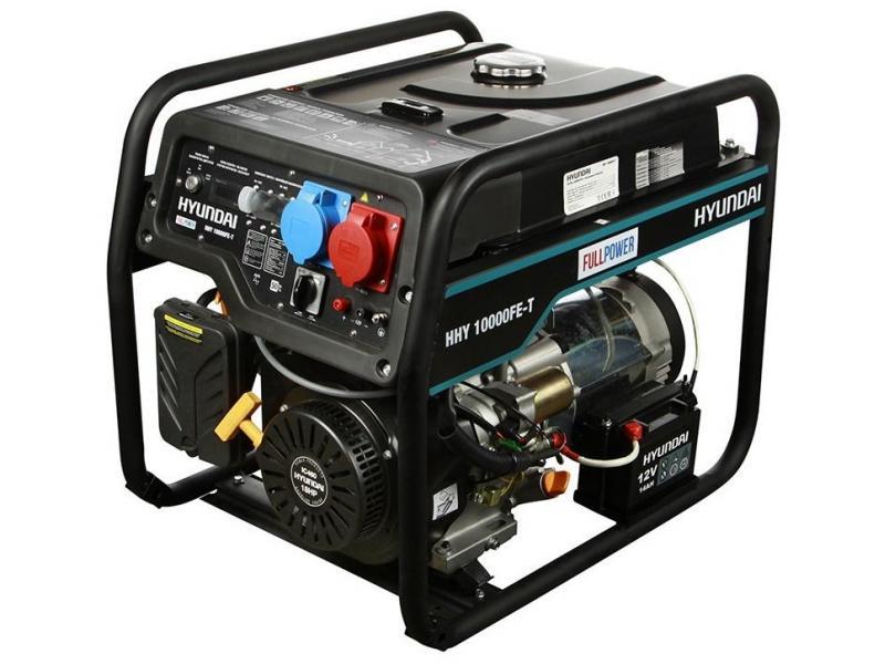 Бензиновый генератор HYUNDAI HHY 10000FE-T - 1/1