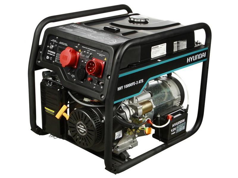 Бензиновый генератор HYUNDAI HHY 10000FE-3 ATS С АВТОЗАПУСКОМ - 1/1