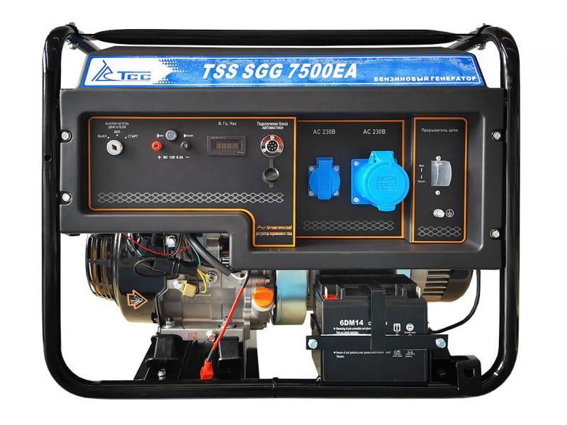 Бензогенератор tss-sgg 7500EA - 1/1