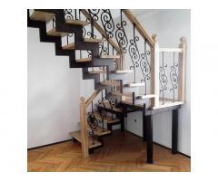 Изготовим лестницы на металлокаркасе