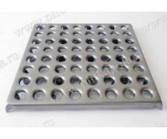 Производство и продажа металлической плитки для промышленных полов.